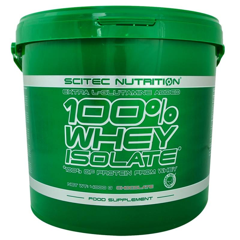 100% Whey Isolate – 4000 г.