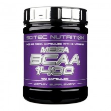 Mega BCAA 1400 - 180 капс.