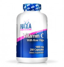 High Potency Vitamin C 1,000мг. with Rose Hips - 250 В-Табл.