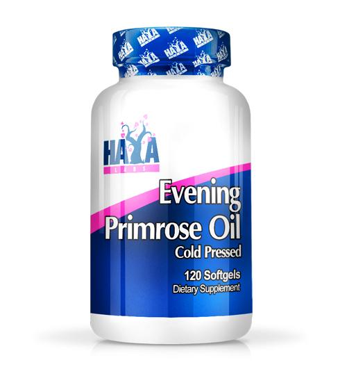 Evening Primrose Oil / Cold Pressed – 500 мг. / 120 Softgels