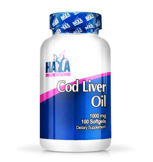 Cod Liver Oil – 1000мг. / 100 Softgels