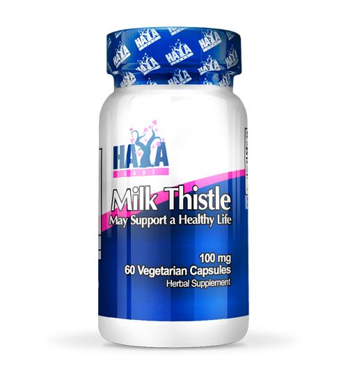 Milk Thistle – 100 мг. / 60 В-Капс.