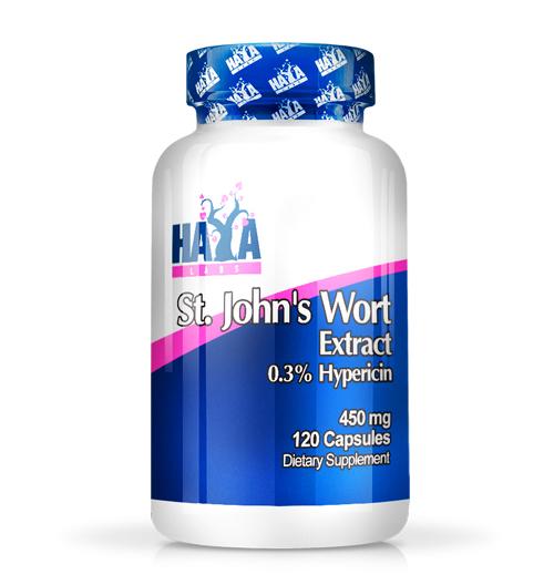St. John's Wort – 450 мг. / 120 В-Капс.