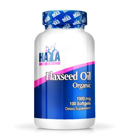 Flax Seed Oil – 1000 мг. / 100 Softgels