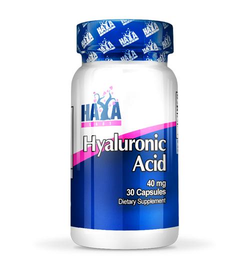 Hyaluronic Acid – 40 мг. / 30 Капс.