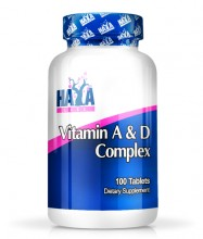 Vitamin A & D Complex - 100 Softgels