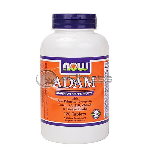 ADAM™ Superior Mens Multiple Vitamin – 120 Tabs.