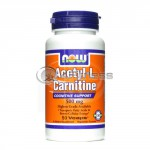 Acetyl L-Carnitine - 500 mg. / 50 VCaps.