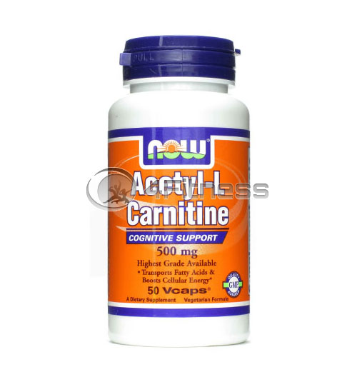 Acetyl L-Carnitine – 500 mg. / 50 VCaps.