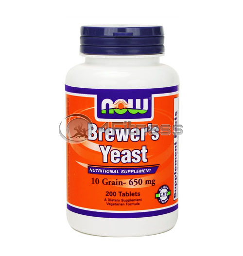 Brewers Yeast – 650 mg. / 200 Tabs.