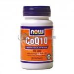 CoQ10 w/Omega 3 Fish Oils – 60 mg. / 30 Softgels