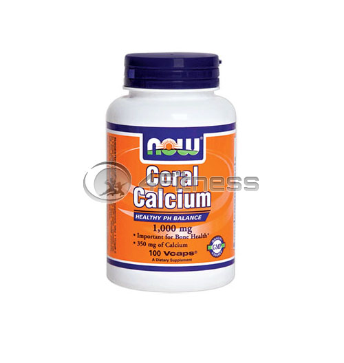 Coral Calcium – 1000 mg. / 100 Vcaps.