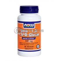 Beta 1,3/1,6- D -Glucan - 100 mg. / 90 VCaps.