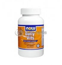 Daily Vits ™ Multi Vitamin & Mineral - 250 Tabs.