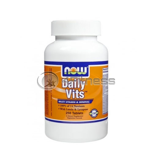 Daily Vits ™ Multi Vitamin & Mineral – 250 Tabs.
