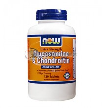 Glucosamine & Chondroitin Sulfate Extra Strength - 120 Tabs.