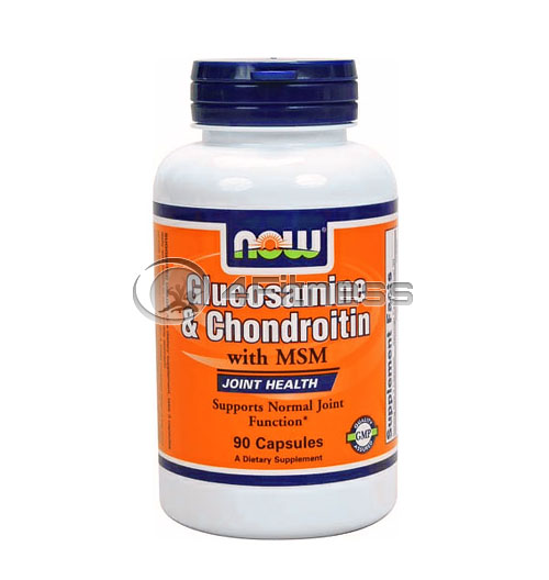 Glucosamine & Chondroitin with MSM – 90 Caps.