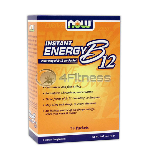 Instant Energy B-12 – 75 Packs