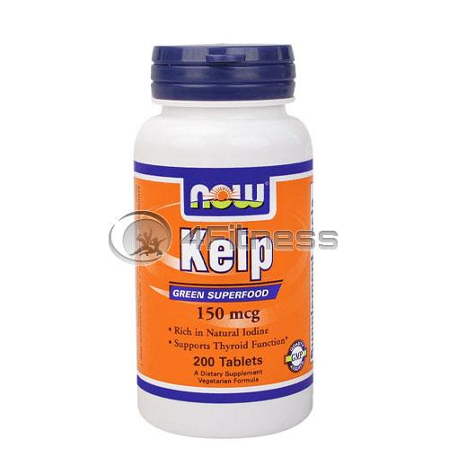 Kelp – 150mcg. / 200 Tabs.