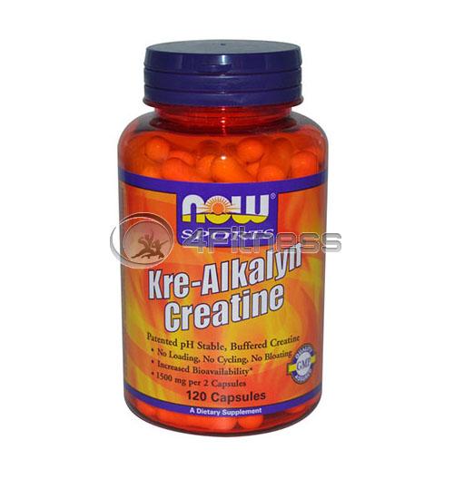 Kre-Alkalyn ® Creatine – 120 Caps.