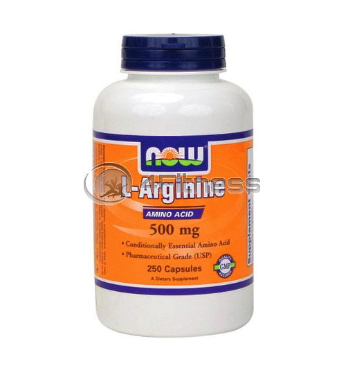 L-Arginine – 500 mg. / 250 Caps.