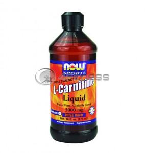 L-Carnitine Liquid - 3000mg. / 465 ml.