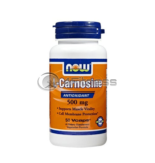 L-Carnosine – 500 mg. / 50 VCaps.