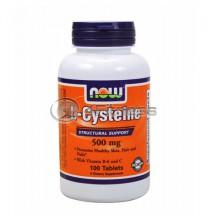 L-Cysteine - 500 mg. / 100 Tabs.