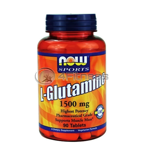 L-Glutamine – 1500 mg. / 90 Tabs.