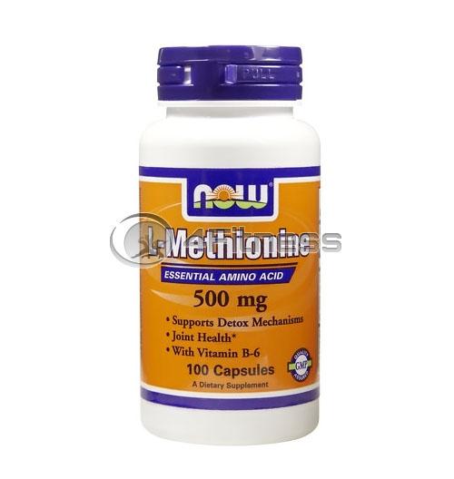 L-Methionine – 500 mg. / 100 Caps.
