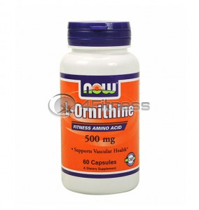 L-Ornithine - 500 mg. / 60 Caps.