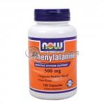 L-Phenylalanine - 500 mg. / 120 Caps.