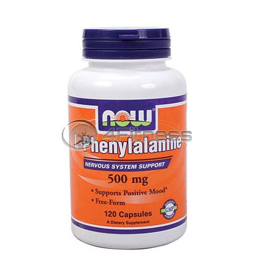 L-Phenylalanine – 500 mg. / 120 Caps.