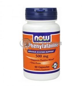 L-Phenylalanine - 500 mg. / 60 Caps.