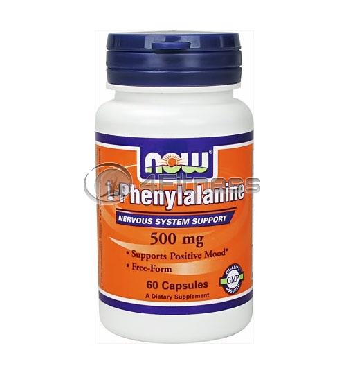 L-Phenylalanine – 500 mg. / 60 Caps.