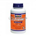 L-Proline - 500 mg. / 120 VCaps.