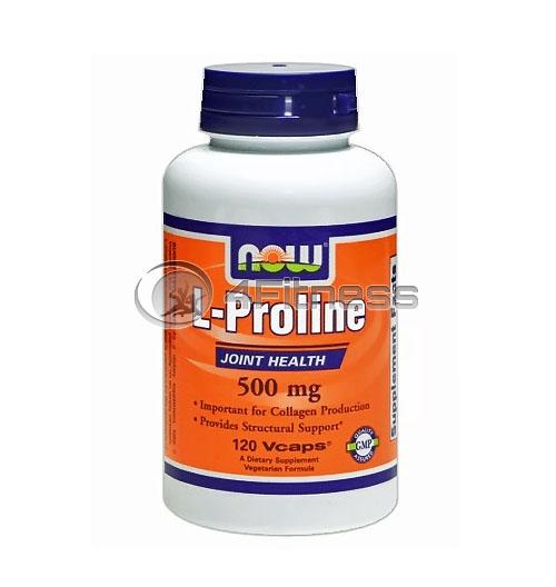 L-Proline – 500 mg. / 120 VCaps.
