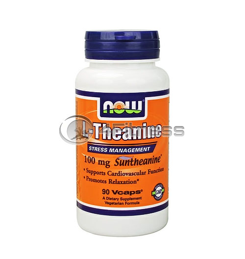 L-Theanine – 100 mg. / 90 VCaps.
