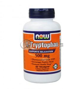 L-Tryptophan - 500 mg. / 60 VCaps.