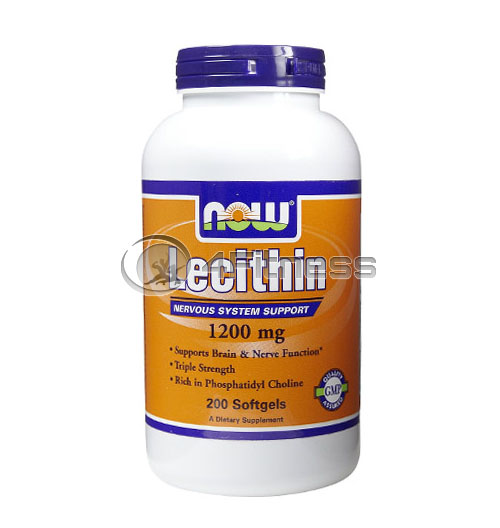Lecithin /Triple Strength/ – 1200 mg. / 200 Softgels