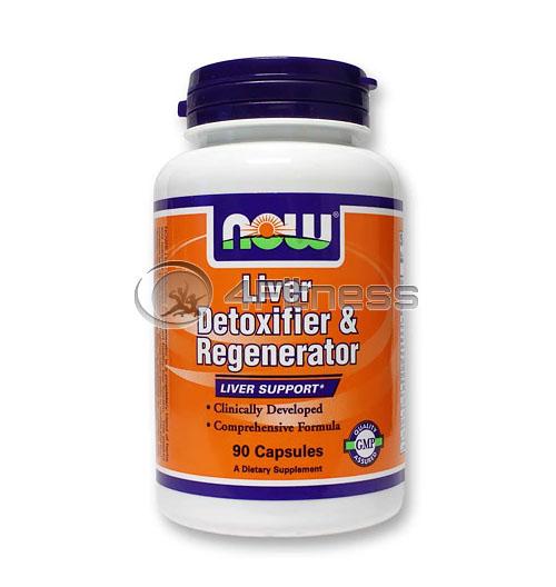 Liver Detoxifier & Regenerator – 90 Caps.