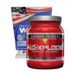 American Standard Whey – 2270 gr. + N.O.-Xplode 2.0 – 50 Serv. stack