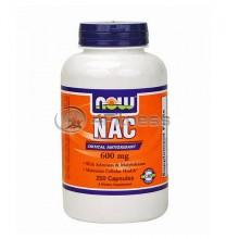 NAC - 600 mg. / 250 Caps.