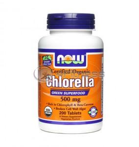 Chlorella - 500 mg. / 200 Tabs.