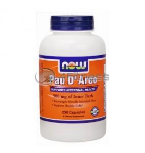 Pau D' Arco - 500 mg. / 250 Caps.