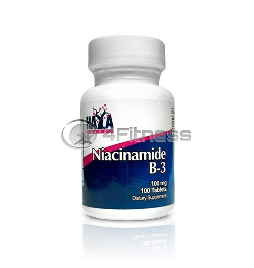 Niacinamide – 100 mg. / 100 Tabs