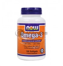 Omega 3 Fish Oil - 1000 mg. / 100 Softgels