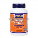 Omega 3-6-9 / 1000mg. / 100 Softgels