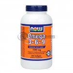 Omega 3-6-9 - 1000mg. / 250 Softgels