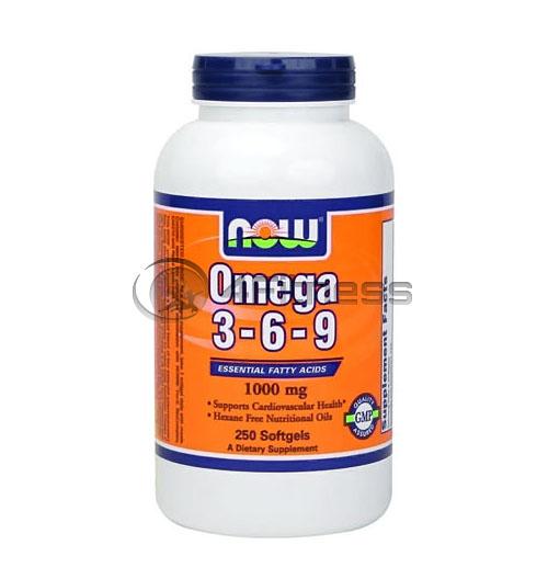 Omega 3-6-9 – 1000mg. / 250 Softgels